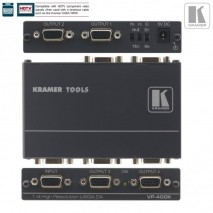 Splitter / distributeur amplificateur vga video informatique graphique 1:4