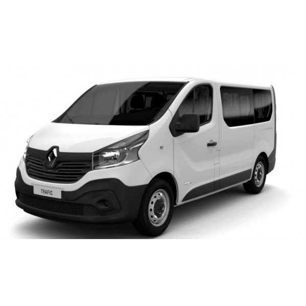 v hicule de cat gorie f de type minibus renault trafic slf location. Black Bedroom Furniture Sets. Home Design Ideas