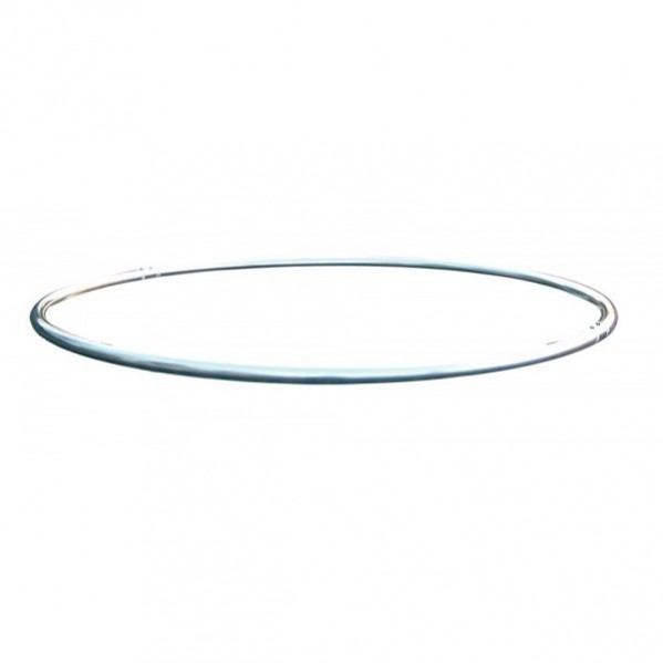 Cercle monotube alu 50mm diametre 1 metre