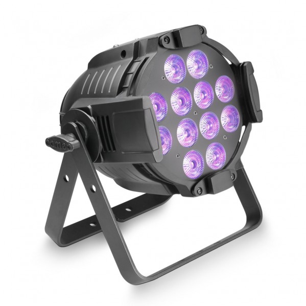 Projecteur par quad colour led 12 x 12w rgbwa+uv cameo