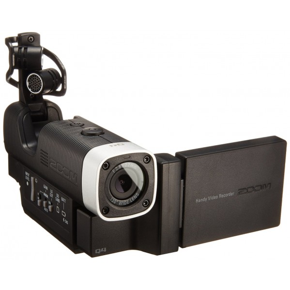 Enregistreur audio & video full hd compact zoom